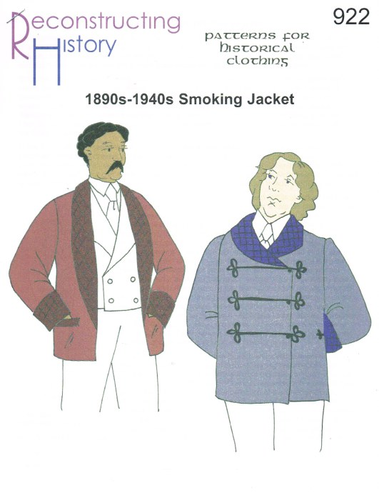 Image for RH922: 1890S-1940S SMOKING JACKET