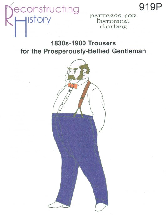 Image for RH919P: 1830S - 1900 LOUNGE TROUSERS FOR THE PROSPEROUSLY-BELLIED GENTLEMAN