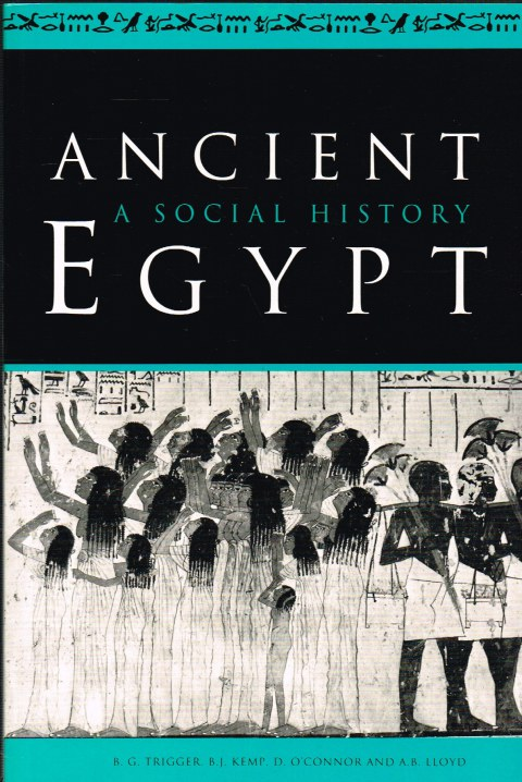 Image for ANCIENT EGYPT: A SOCIAL HISTORY