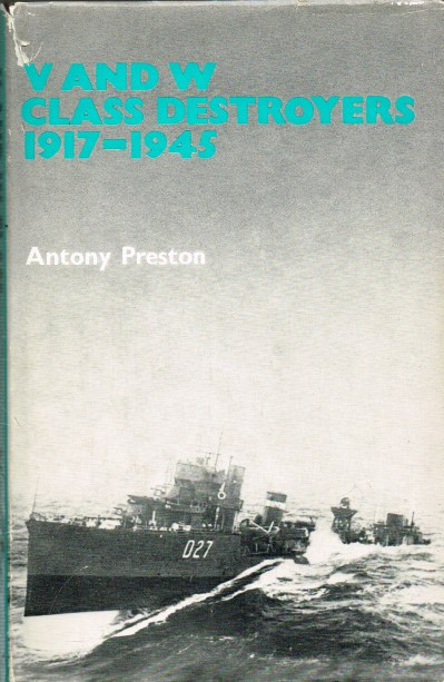 Image for V AND W CLASS DESTROYERS 1917-1945