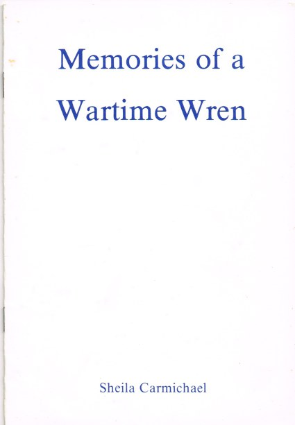 Image for MEMOIRIES OF A WARTIME WREN