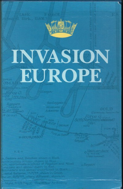 Image for INVASION EUROPE (THREE VOLUME SET + MAPS IN CARD SLIPCASE)