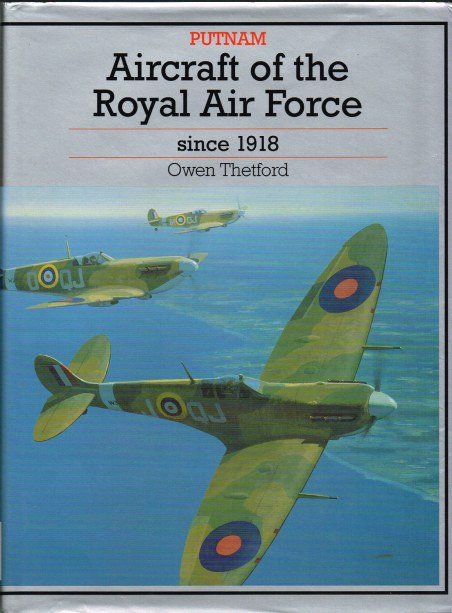 Image for AIRCRAFT OF THE ROYAL AIR FORCE SINCE 1918 (9TH REVISED EDITION)