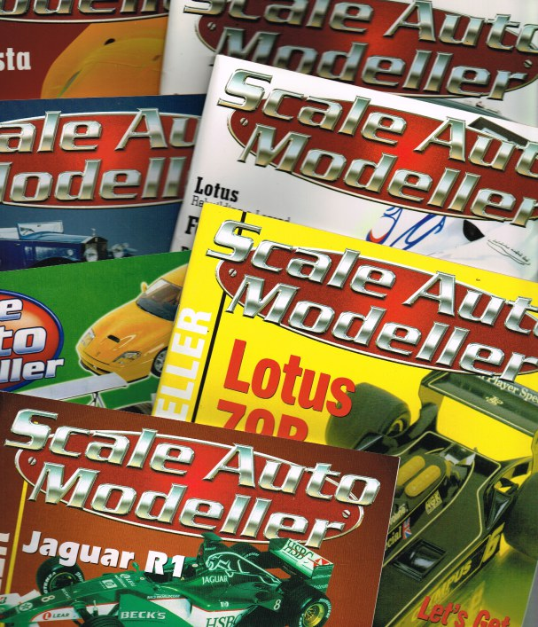 Image for SCALE AUTO MODELLER: MAGAZINE (BACK ISSUES IN STOCK)