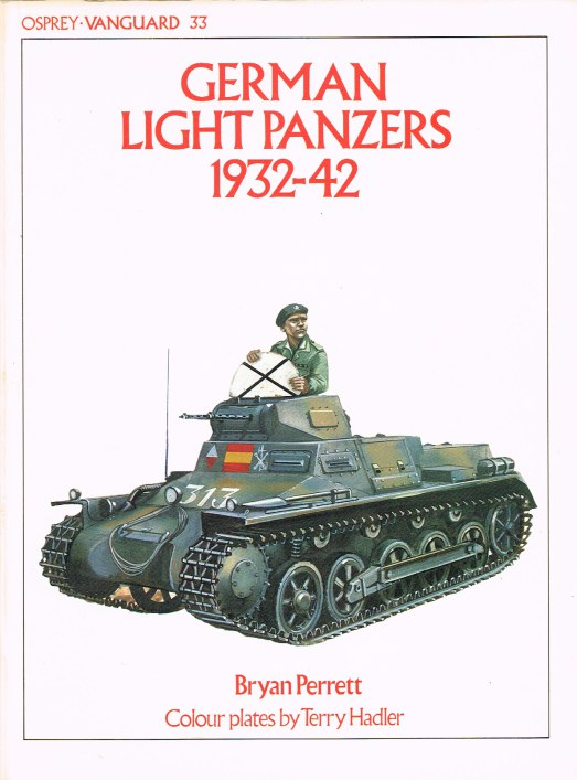 Image for OSPREY VANGUARD 33: GERMAN LIGHT PANZERS 1932-42