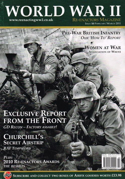 Image for WORLD WAR II RE-ENACTORS MAGAZINE ISSUE 10 FEBRUARY/MARCH 2011