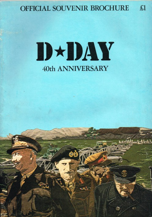 Image for D-DAY 40TH ANNIVERSARY : OFFICIAL SOUVENIR BROCHURE