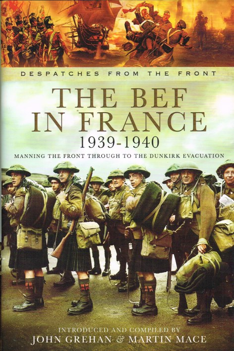 Image for DESPATCHES FROM THE FRONT: THE BEF IN FRANCE 1939-1940