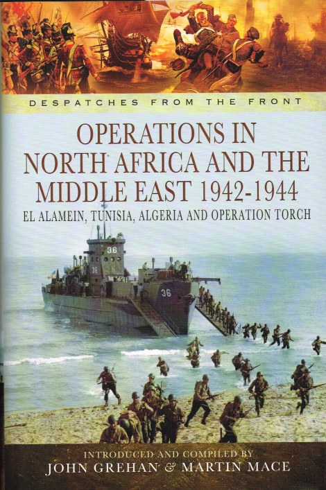 Image for DESPATCHES FROM THE FRONT: NORTH AFRICA AND THE MIDDLE EAST 1942-1944