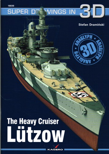 Image for SUPER DRAWINGS IN 3D : THE HEAVY CRUISER LUTZOW