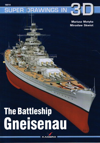 Image for SUPER DRAWINGS IN 3D : THE BATTLESHIP GNEISENAU