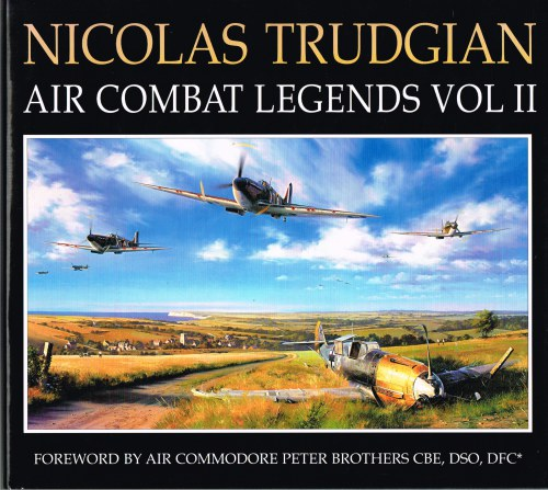 Image for NICOLAS TRUDGIAN : AIR COMBAT LEGENDS VOLUME II