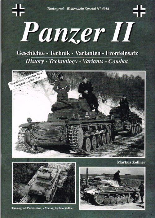 Image for PANZER II: HISTORY - TECHNOLOGY - VARIANTS - COMBAT