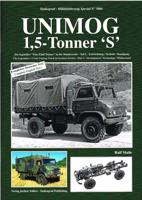 Image for UNIMOG 1.5 TONNER 'S' - THE LEGENDARY 1.5-TON UNIMOG TRUCK IN GERMAN SERVICE - PART 1