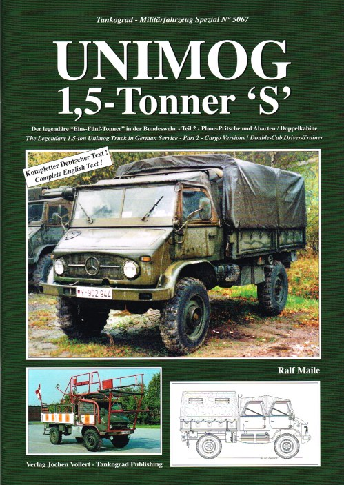 Image for UNIMOG 1.5 TONNER 'S' - THE LEGENDARY 1.5-TON UNIMOG TRUCK IN GERMAN SERVICE - PART 2