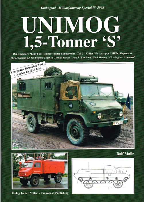 Image for UNIMOG 1.5 TONNER 'S' - THE LEGENDARY 1.5-TON UNIMOG TRUCK IN GERMAN SERVICE - PART 3