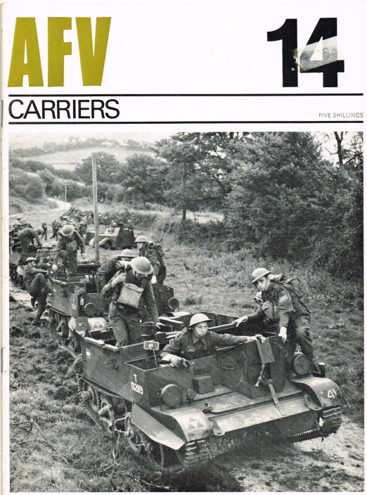 Image for PROFILE AFV 14: CARRIERS