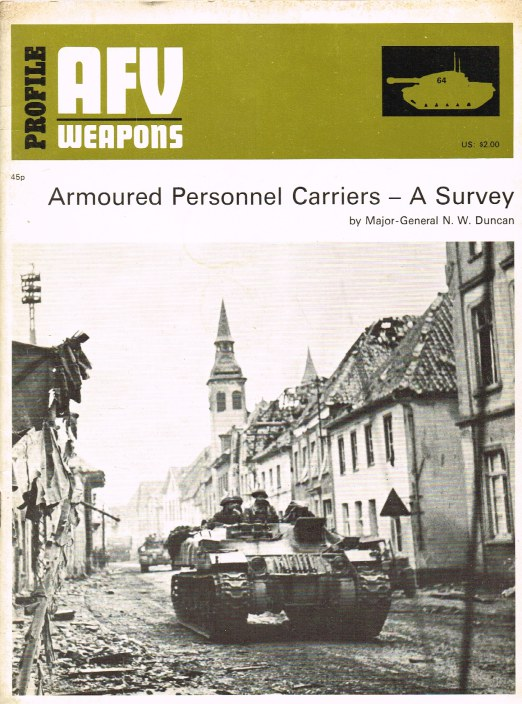 Image for PROFILE AFV 64: ARMOURED PERSONNEL CARRIERS - A SURVEY