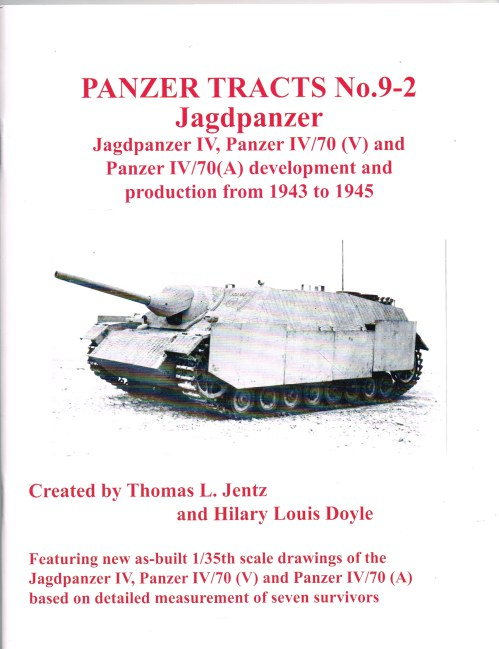 Image for PANZER TRACTS NO. 9-2 : JAGDPANZER
