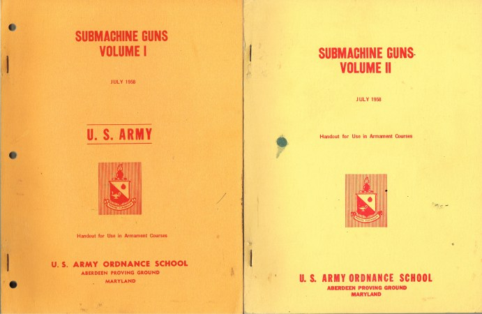Image for SUBMACHINE GUNS VOLUME I + VOLUME II (TWO VOLUME SET)