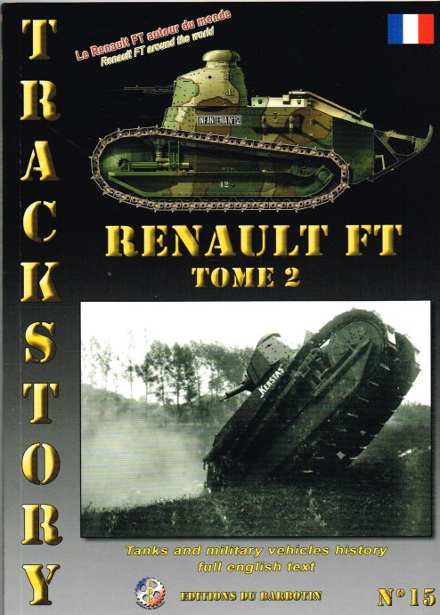 Image for TRACKSTORY NO.15: RENAULT FT TOME 2 - RENAULT FT AROUND THE WORLD