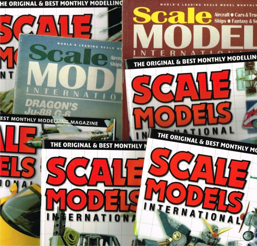SCALE MODELS INTERNATIONAL: MAGAZINE (BACK ISSUES IN STOCK)