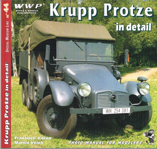 Image for SPECIAL MUSEUM LINE NO.44: KRUPP PROTZE IN DETAIL