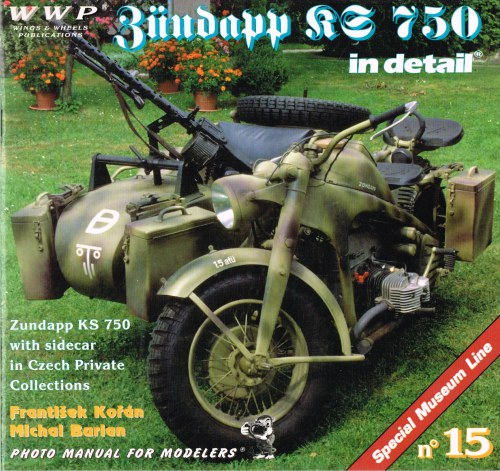 Image for SPECIAL MUSEUM LINE NO.15: ZUNDAPP KS 750 IN DETAIL