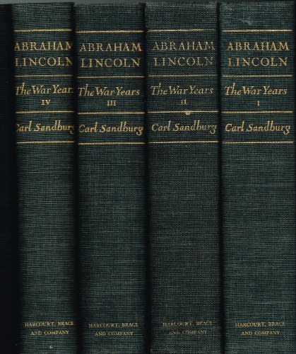 Image for ABRAHAM LINCOLN THE WAR YEARS (FOUR VOLUME SET)