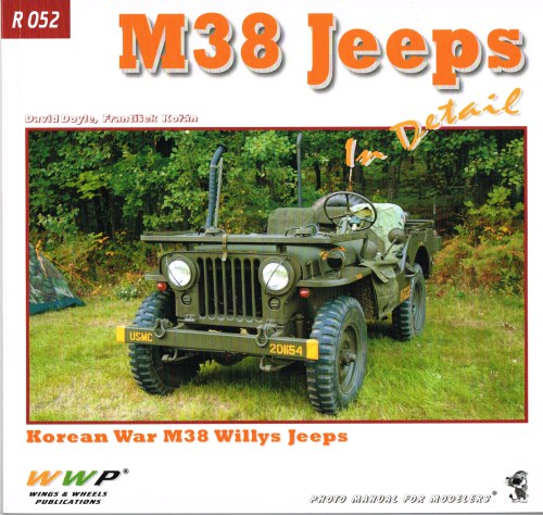 Image for M38 JEEPS IN DETAIL