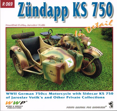 Image for ZUNDAPP KS 750 IN DETAIL