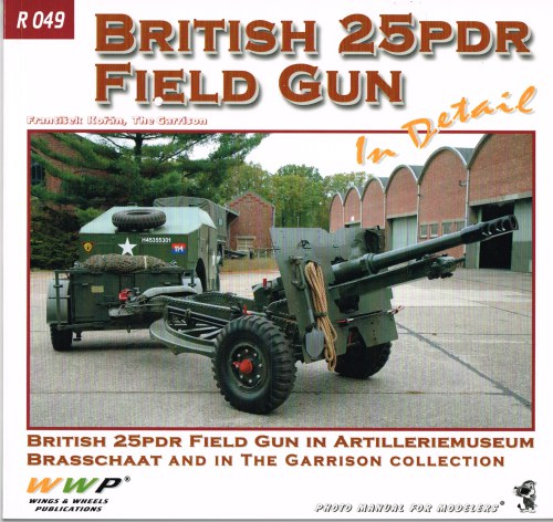 Image for BRITISH 25PDR FIELD GUN IN DETAIL