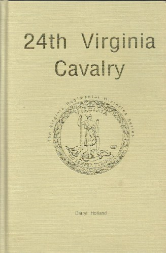 Image for 24TH VIRGINIA CAVALRY (SIGNED COPY)