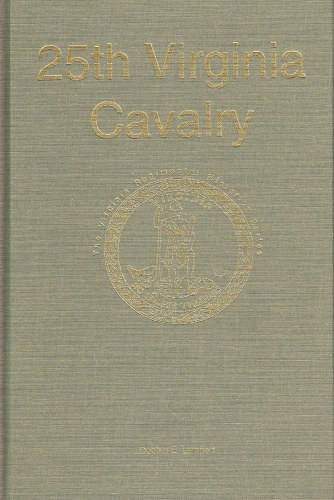 Image for 25TH VIRGINIA CAVALRY (SIGNED COPY)