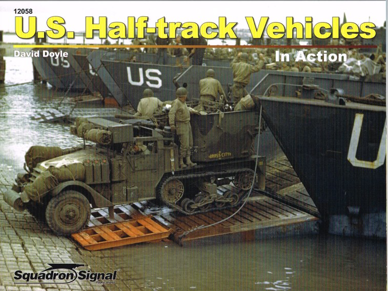 Image for US HALF-TRACK VEHICLES IN ACTION