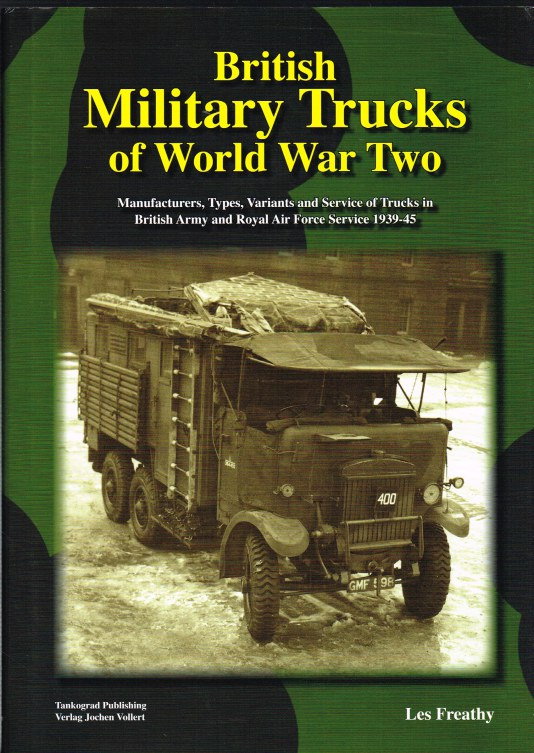 Image for BRITISH MILITARY TRUCKS OF WORLD WAR TWO