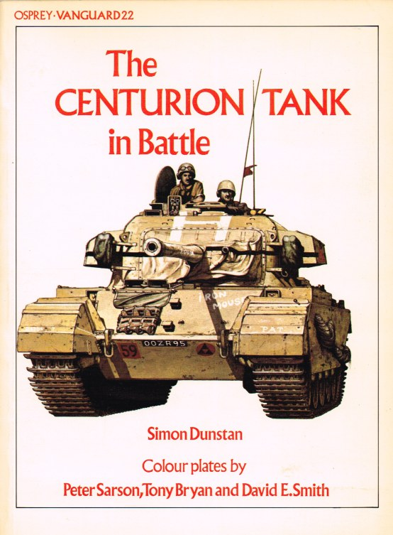 Image for OSPREY VANGUARD 22: THE CENTURION TANK IN BATTLE