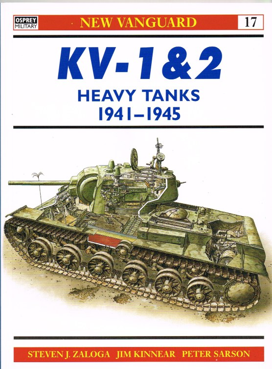 Image for KV-1 & 2 HEAVY TANKS 1939-1945