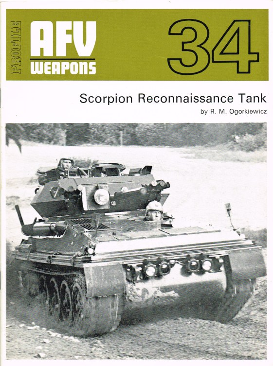 Image for PROFILE AFV 34: SCORPION RECONNAISSANCE TANK