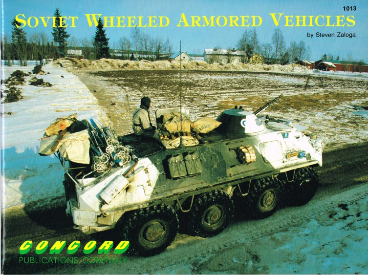 Image for SOVIET WHEELED ARMOURED VEHICLES