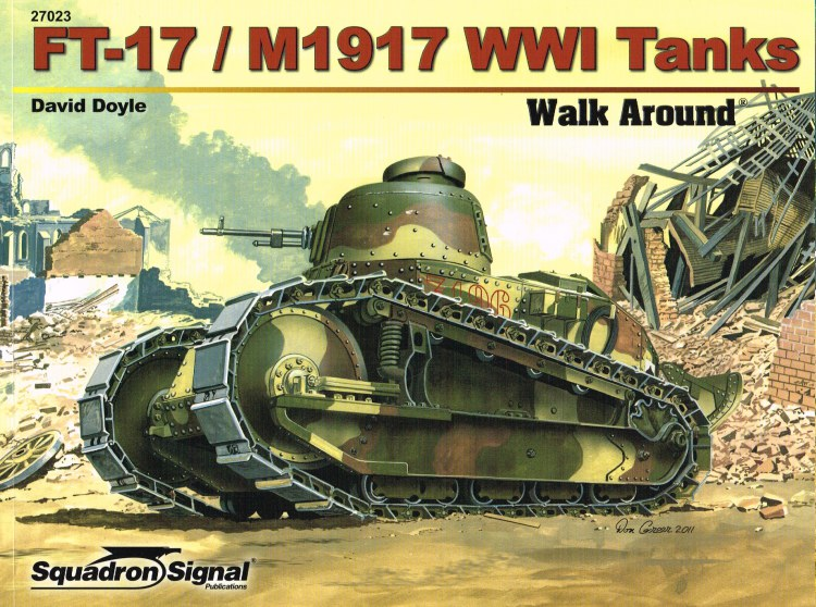 Image for FT-17/M1917 WWI TANKS WALK AROUND