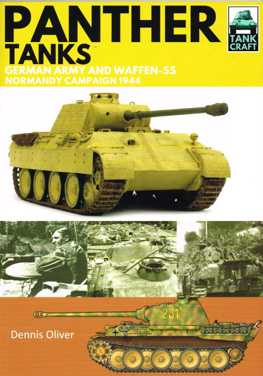 Image for TANKCRAFT 3: PANTHER TANKS : GERMAN ARMY AND WAFFEN-SS NORMANDY CAMPAIGN 1944