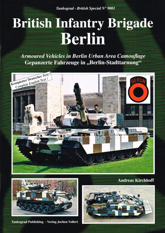Image for BRITISH INFANTRY BRIGADE BERLIN