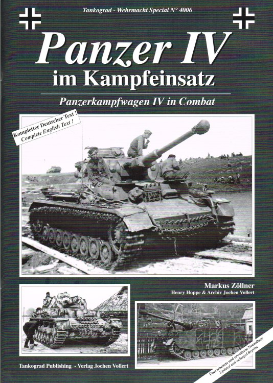 Image for PANZERKAMPFWAGEN IV IN COMBAT (UPDATED & ENLARGED EDITION)