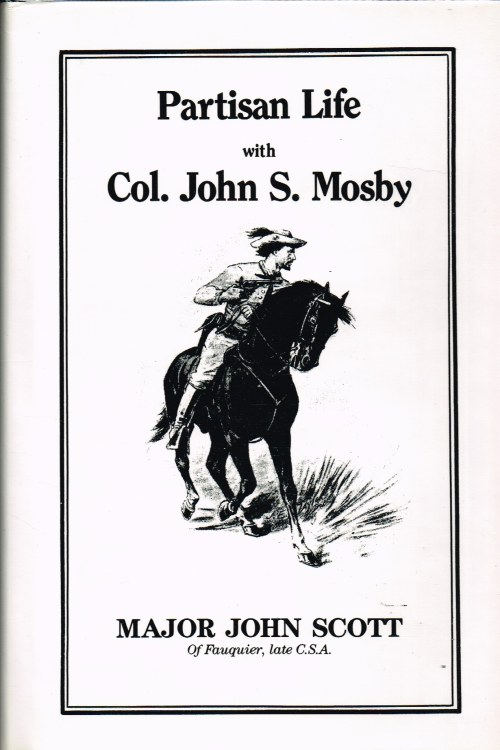 Image for PARTISAN LIFE WITH COL. JOHN S. MOSBY
