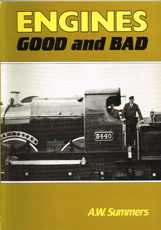 Image for ENGINES GOOD AND BAD