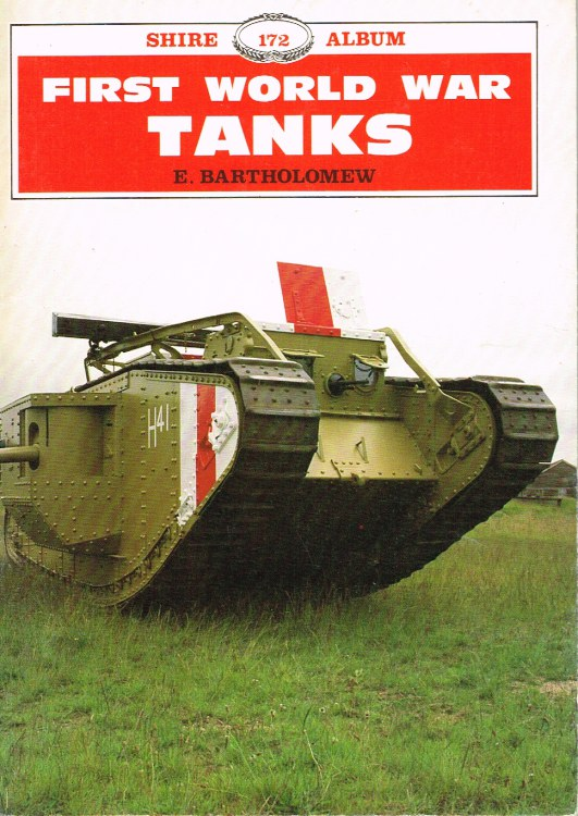 Image for FIRST WORLD WAR TANKS