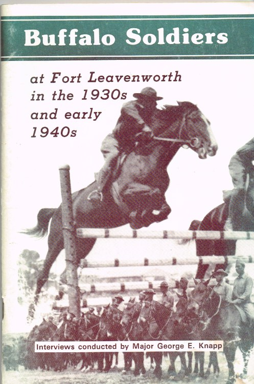 Image for BUFFALO SOLDIERS AT FORT LEAVENWORTH IN THE 1930'S AND EARLY 1940'S (SIGNED COPY)