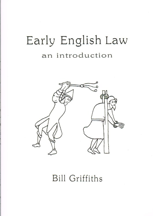 Image for AN INTRODUCTION TO ANGLO-SAXON EARLY ENGLISH LAW