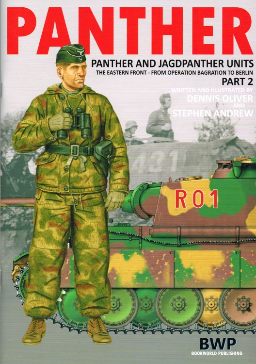 Image for PANTHER: PANTHER AND JAGDPANTHER UNITS: THE EASTERN FRONT - FROM BAGRATION TO BERLIN: PART 2
